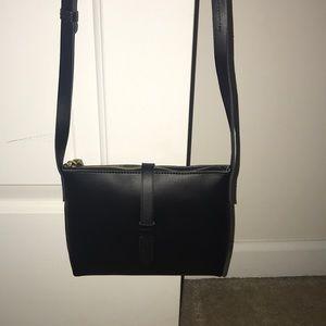 Black J Crew Shoulder Bag